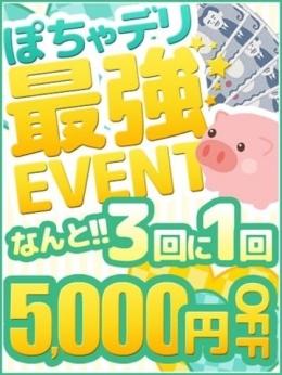 5000円オフ チケットイベント ぽちゃカワ専門店 マシュマロ (栄・新栄発)