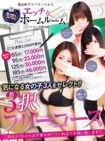 3択フリー エッチなホームルーム (錦糸町発)