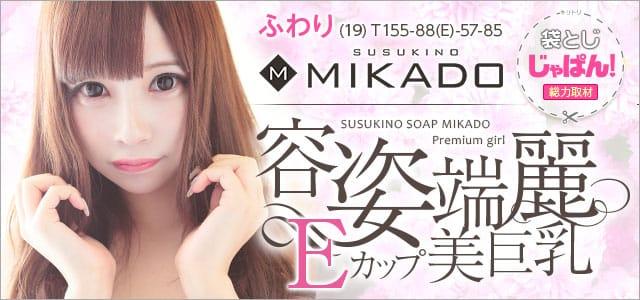 袋とじじゃぱん! VIP SOAP MIKADO(ビップ ソープ ミカド)-ふわり【新人コース対象】