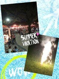 初☆夏祭り(o・v・)♪