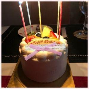 ?お誕生日ケーキ?