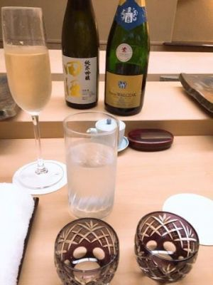 お酒×お寿司