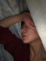眠れない💦