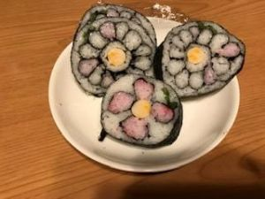 太巻き寿司(^O^)