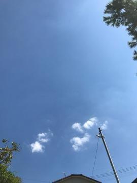 いい天気〜??