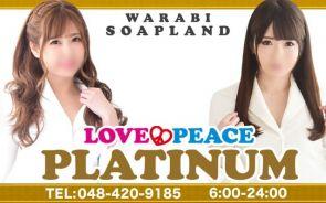 LOVE&PEACE PLATINUM