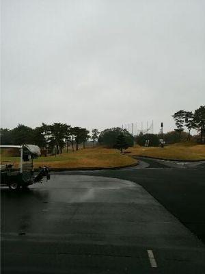 雨ゴルフ(*_*;で…
