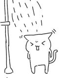 雨だ・・・
