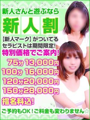 期間限定!入店ホヤホヤ新人さんは【新人割】でお得!