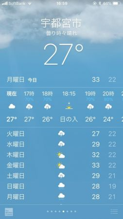 空が怒ってる!!!