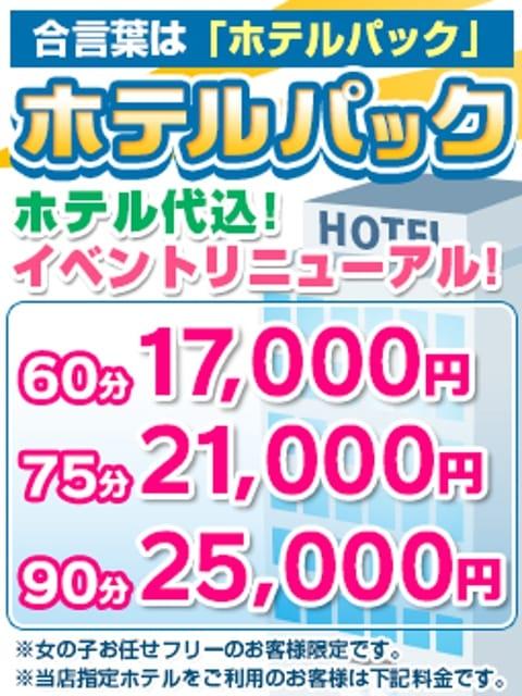 ◆ホテルパック◆