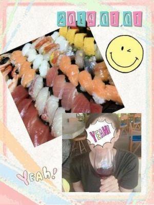 お寿司\(^^)/
