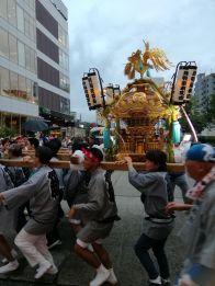 天祖神社祭礼神輿