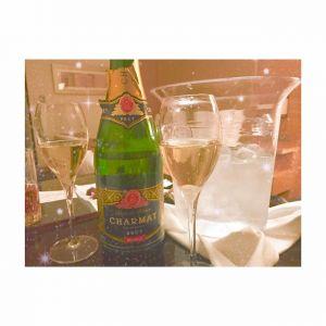 シャンパンを飲みました☆