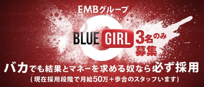 BLUE GIRLの男性高収入求人