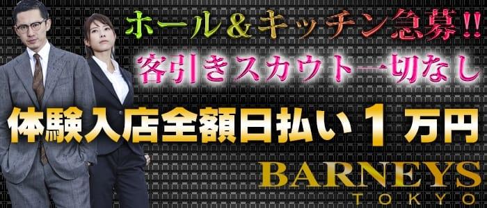 BARNEYS TOKYO(バーニーズトーキョー)の男性高収入求人