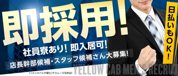 Yellowcab(有限会社ビギン)の男性高収入求人