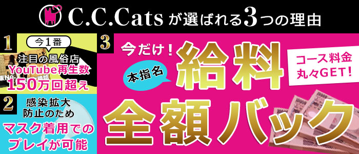 C.C.Cats(シーシーキャッツ)の体験入店求人画像