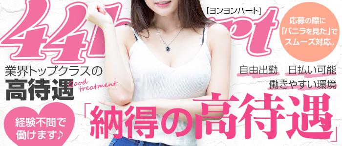 44 heart ~ヨンヨンハート~の未経験求人画像