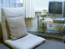 完全個室の待機部屋完備