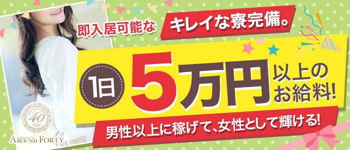 大阪激安デリヘルAround Fortyの求人画像
