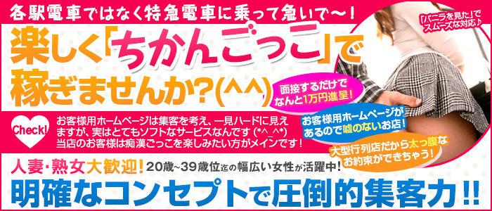人妻・熟女・ぶっかけ痴漢電車in五反田