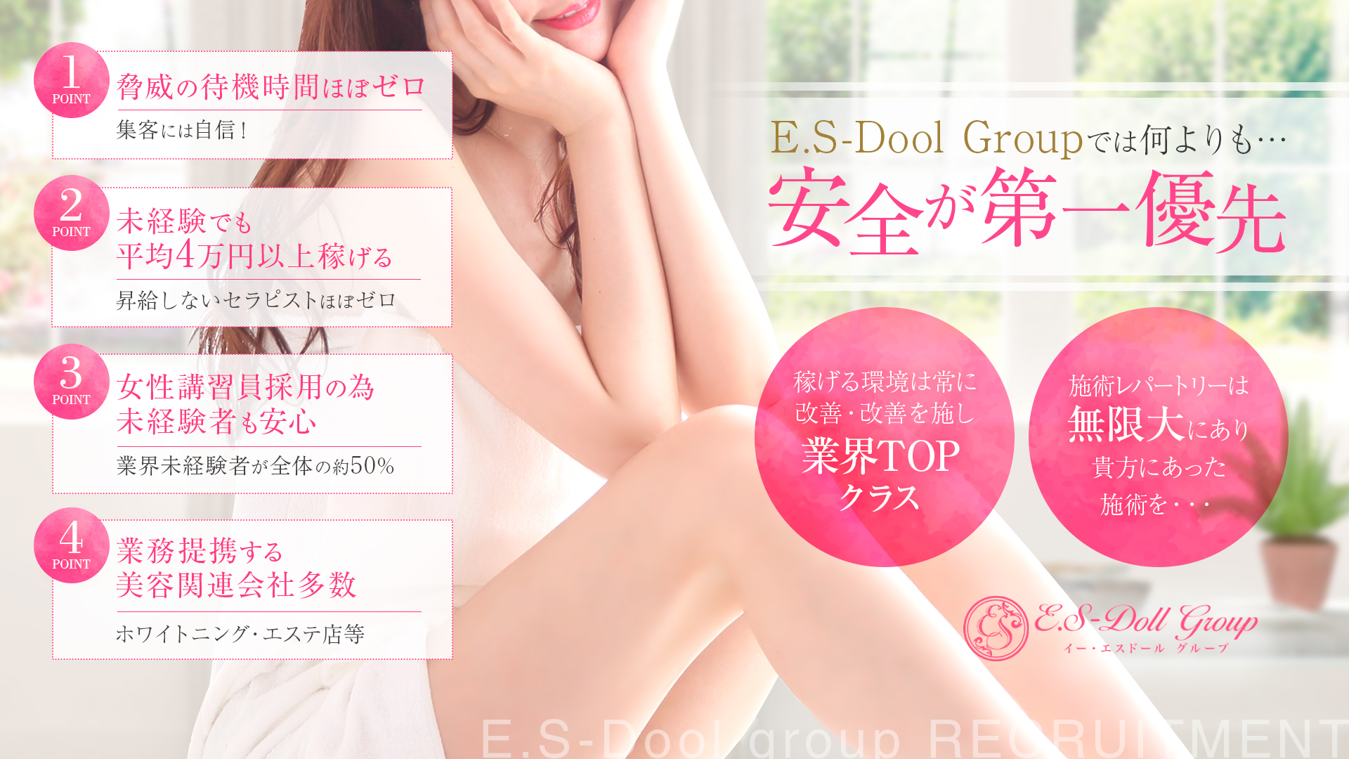 E.S-Doll(イーエスドール)グループの求人画像