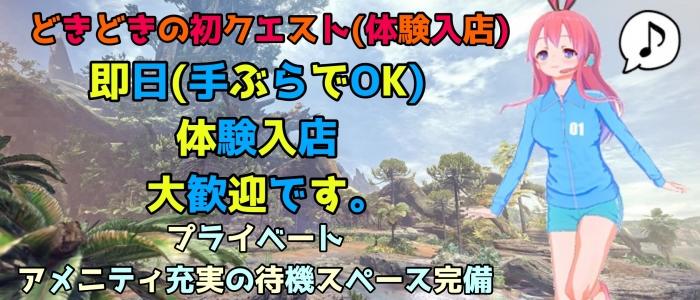 新宿 姫 デリヘル 素人館☆の体験入店求人画像