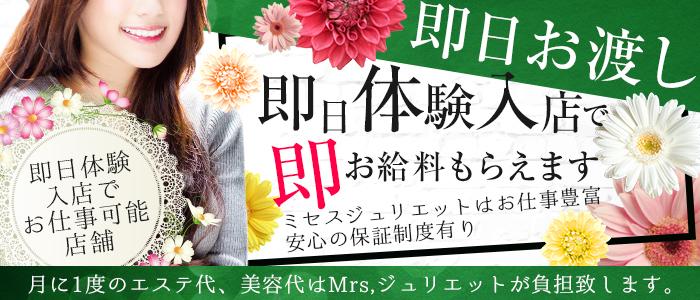 体験入店・Mrs.(ミセス)ジュリエット