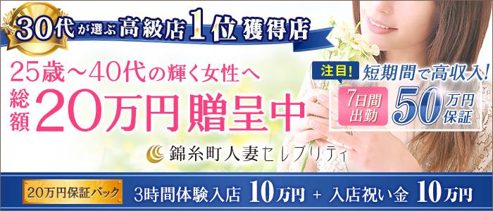 体験入店・錦糸町人妻セレブリティ