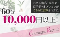 60分バック10000円~のアイキャッチ画像