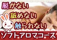 「脱がない」「舐めない」「触られない」のソフトアロマコースのアイキャッチ画像