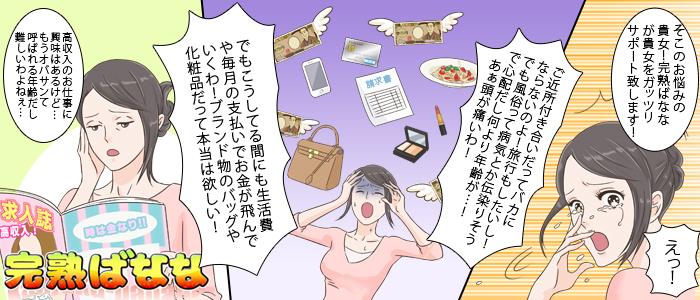完熟ばなな川崎の求人画像