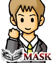 MASKの面接人画像