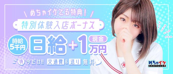 めちゃイケの体験入店求人画像