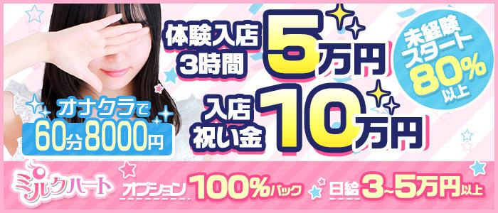 五反田ミルクハートの体験入店求人画像