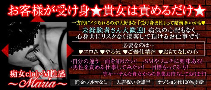 痴女club・М性感~Maria~の未経験求人画像