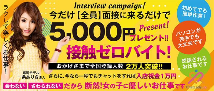 チャットレディJP 新潟の求人画像