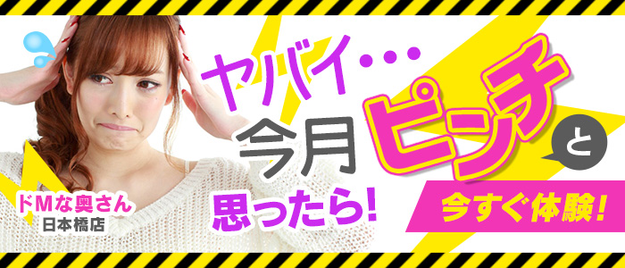 未経験・ドMな奥さん 日本橋店