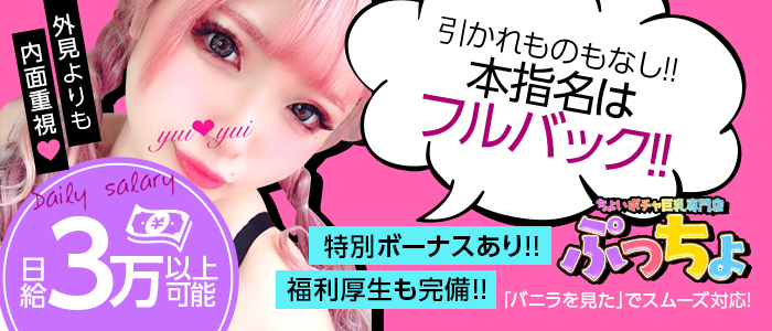 体験入店・ちょいポチャ巨乳専門店(ぷっちょ)