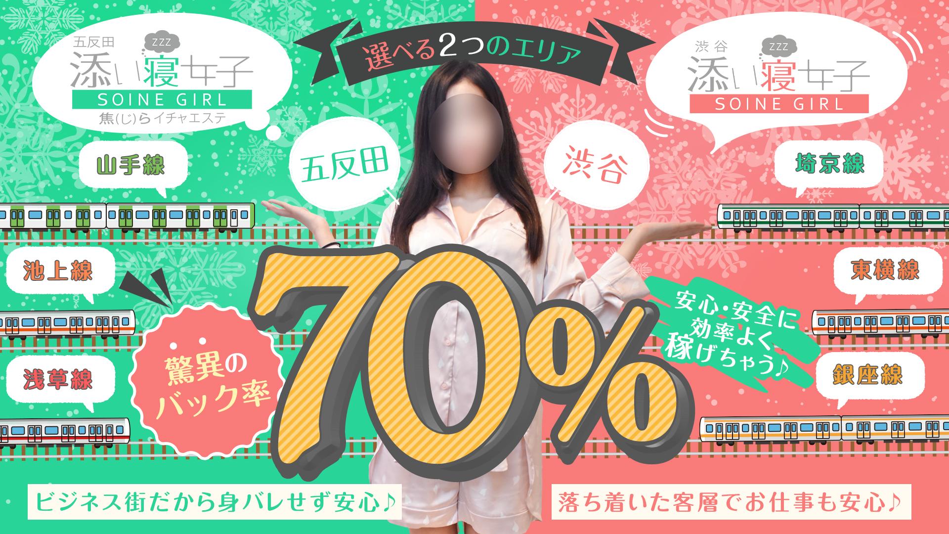 渋谷・五反田 添い寝女子の求人画像