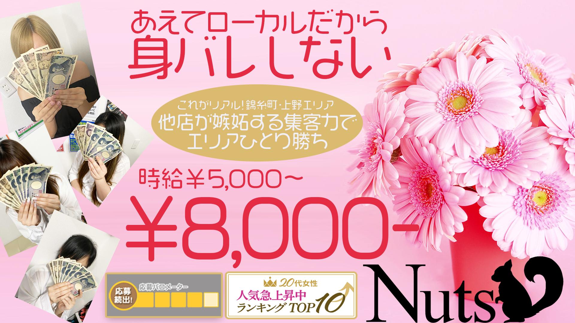 Nuts~ナッツ~の求人画像