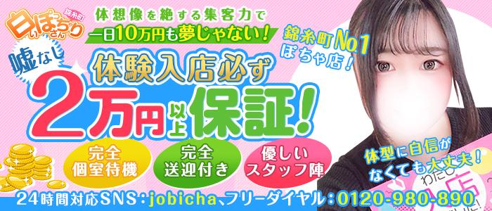 白いぽっちゃりさん 錦糸町店の求人画像