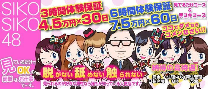 新感覚のオナクラ専門店 SIKO-SIKO48 柏店の求人画像
