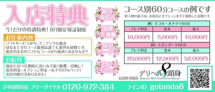 体験入店・五反田高身長デリヘル「8頭身」