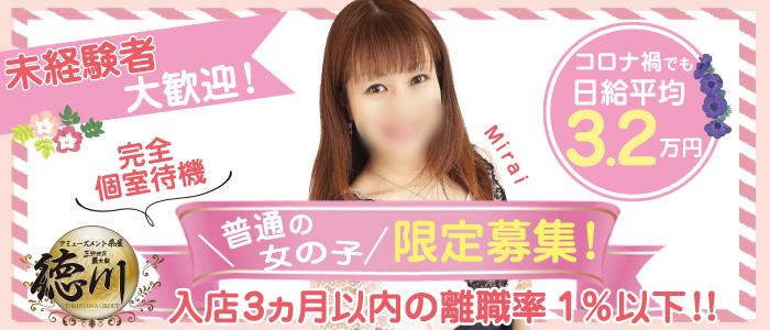 アミューズメント茶屋 徳川の求人画像