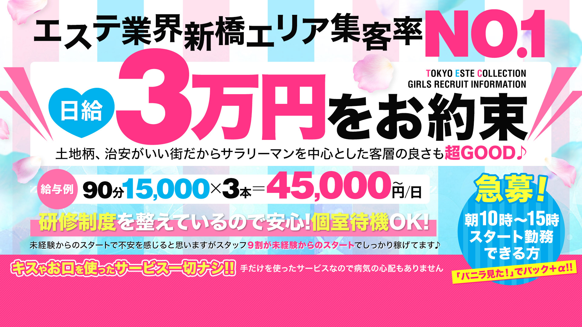 東京エステコレクション 新橋・銀座の求人画像
