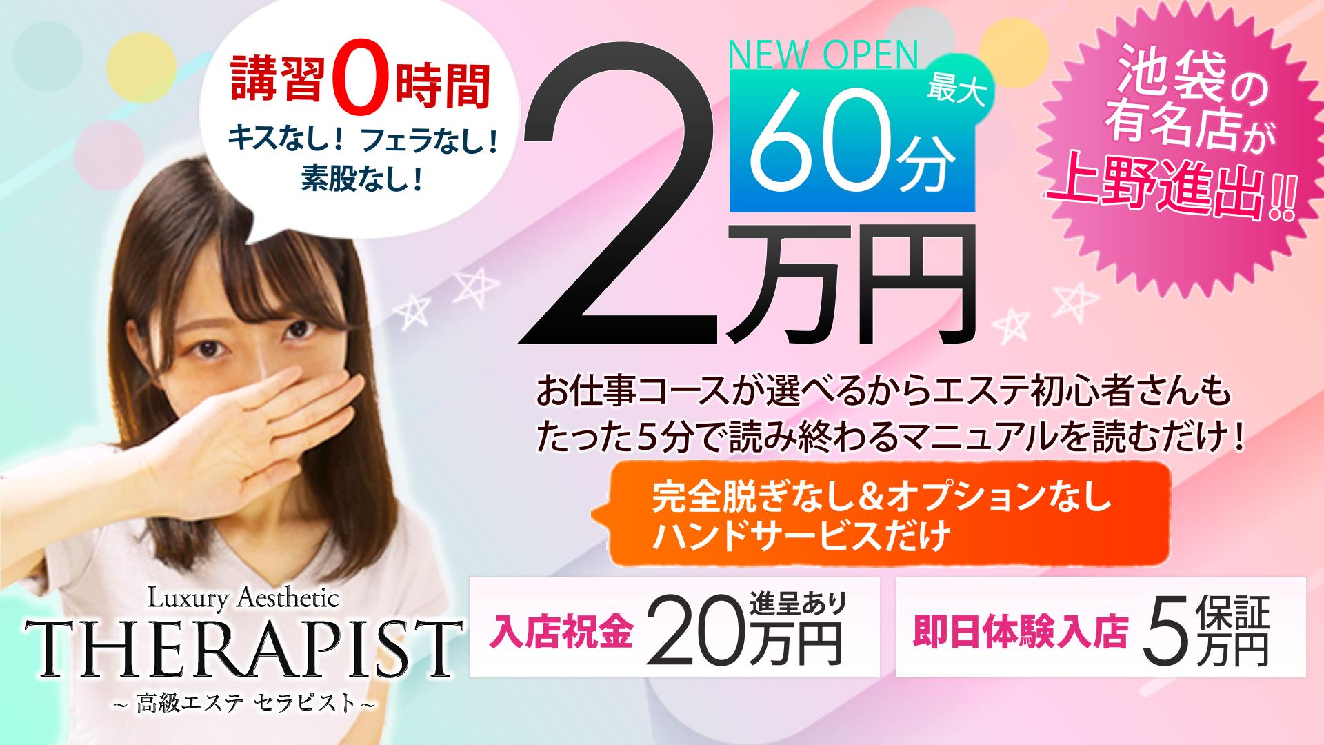 高級エステセラピスト上野店の求人画像
