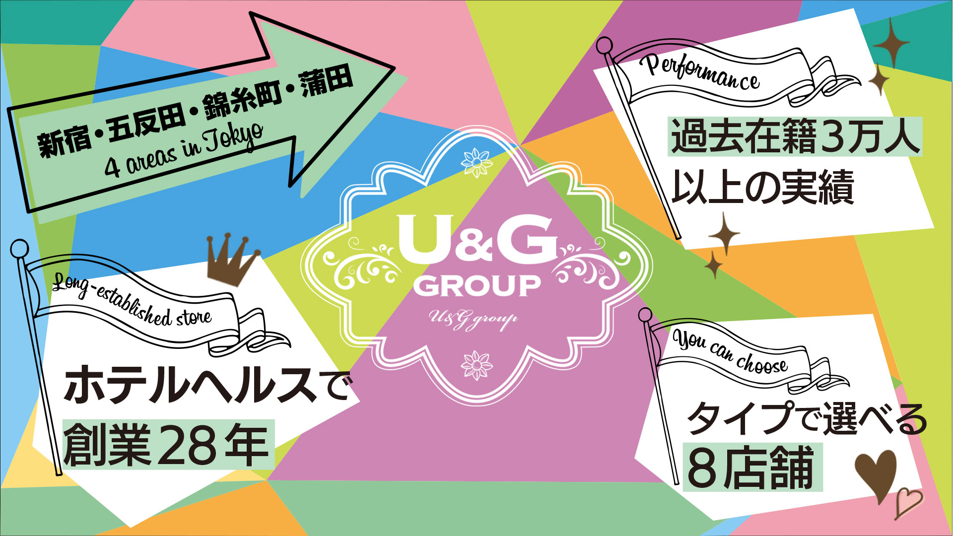U&Gグループの求人画像