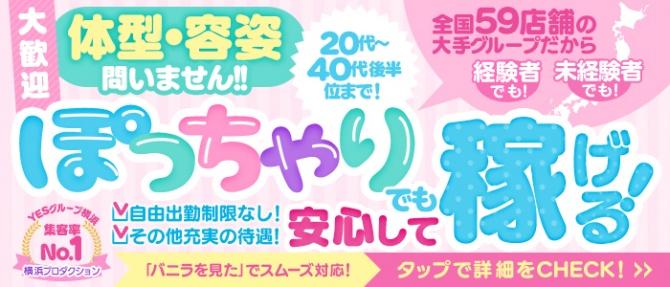 横浜プロダクション(YESグループ)のぽっちゃり求人画像
